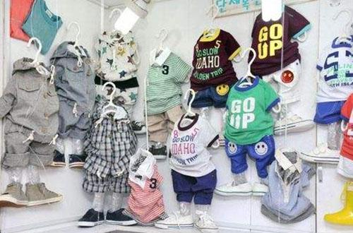 小鼠霸米童装加盟店照片