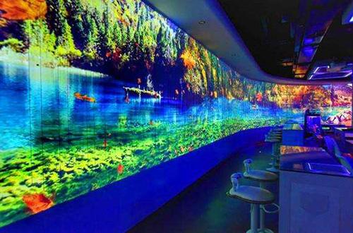 极光空间梦幻餐厅加盟店照片