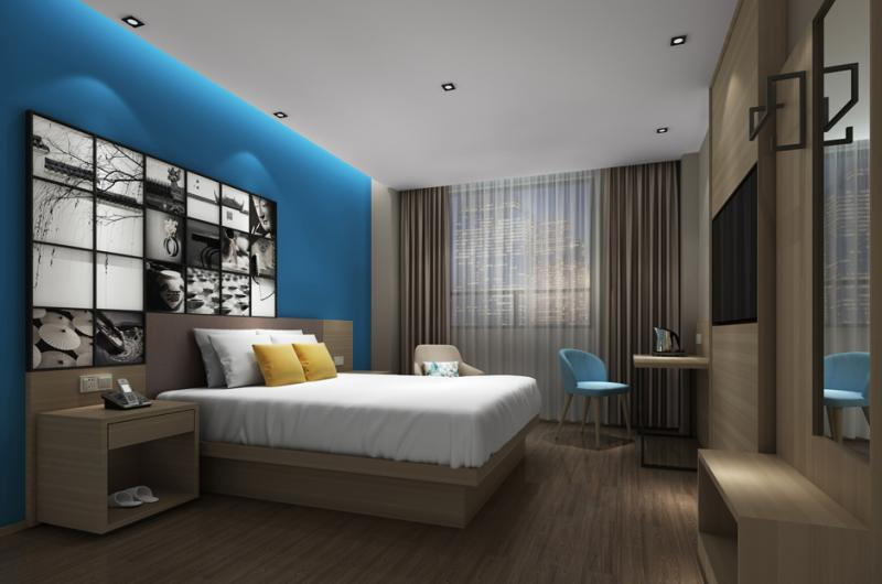 城市之家酒店加盟 客房-大床1