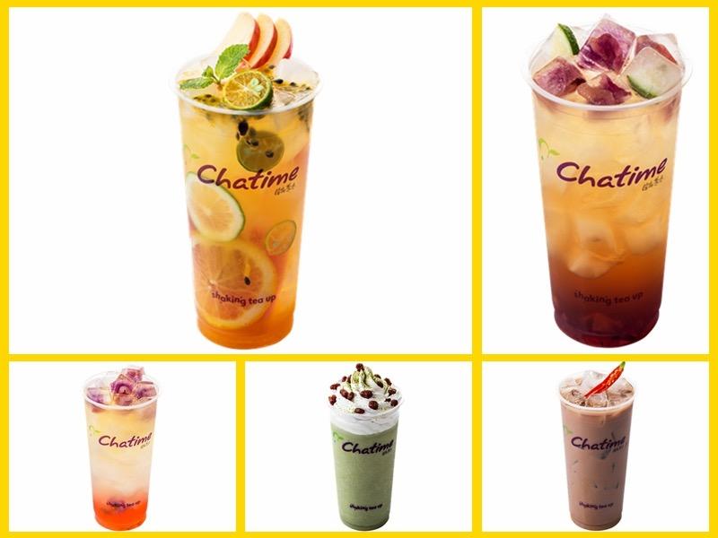 日出茶太饮品加盟 产品