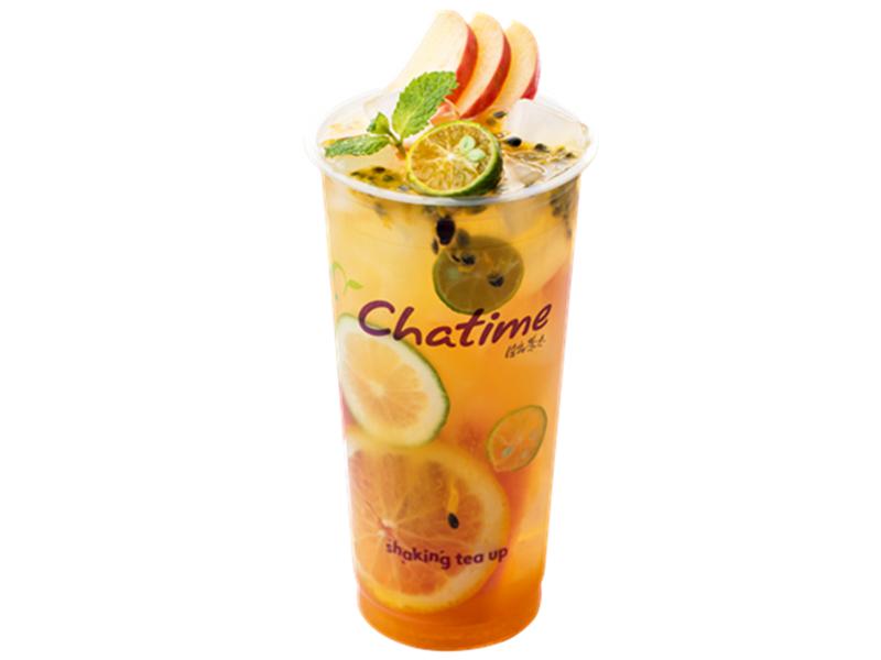 日出茶太饮品加盟 尖叫水果茶