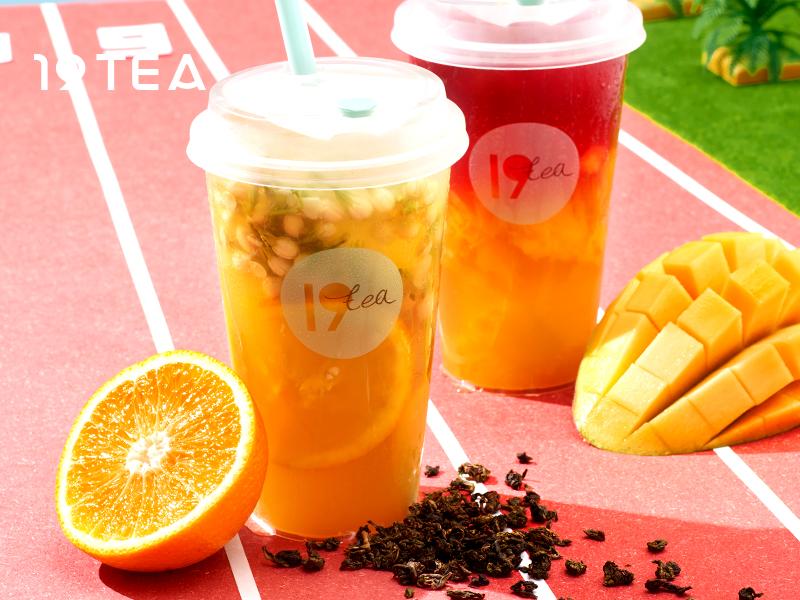 19TEA加盟 甜橙和芒果酵素茶