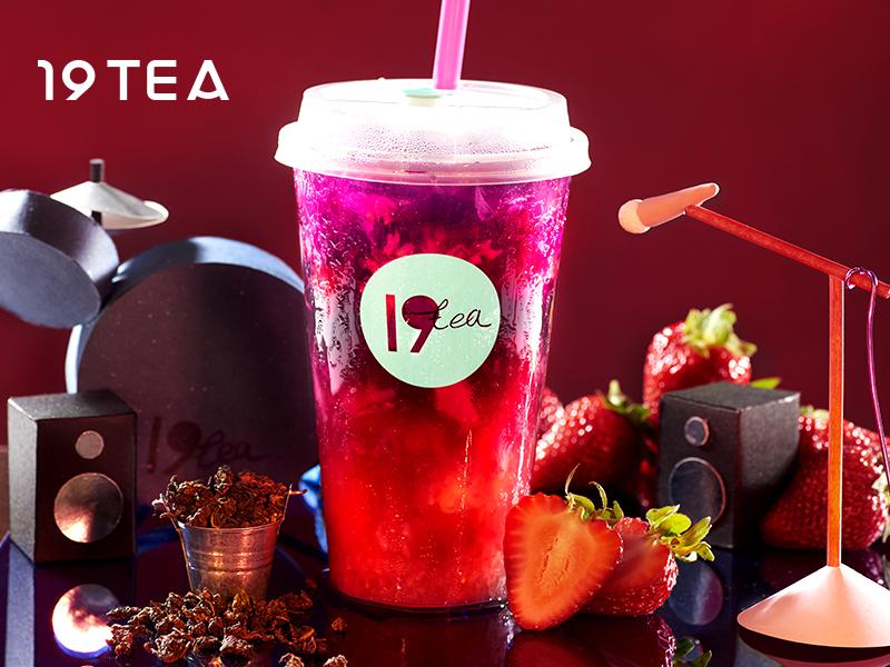 19TEA加盟 草莓酵素茶