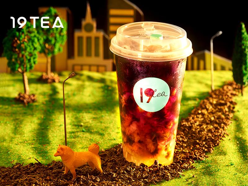 19TEA加盟 黑枸杞酵素茶