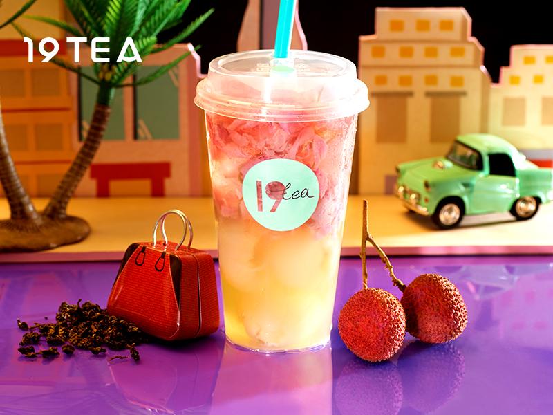 19TEA加盟 荔枝酵素茶