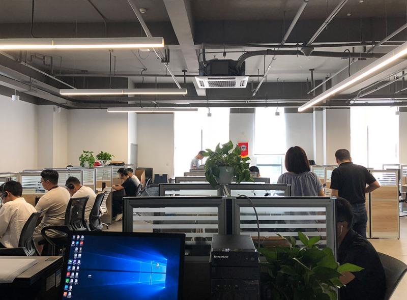 灵声电话机器人加盟 公司环境-销售