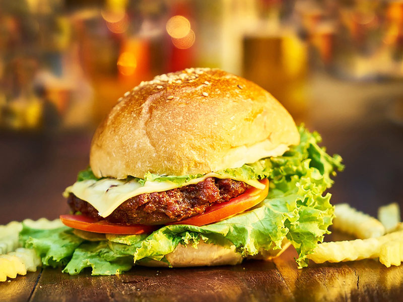 大堡當家炸雞漢堡