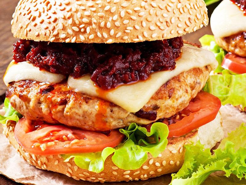 大堡当家汉堡加盟 产品