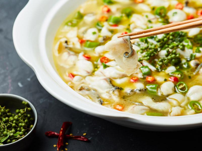 不二酸菜鱼加盟 不二酸菜鱼米饭