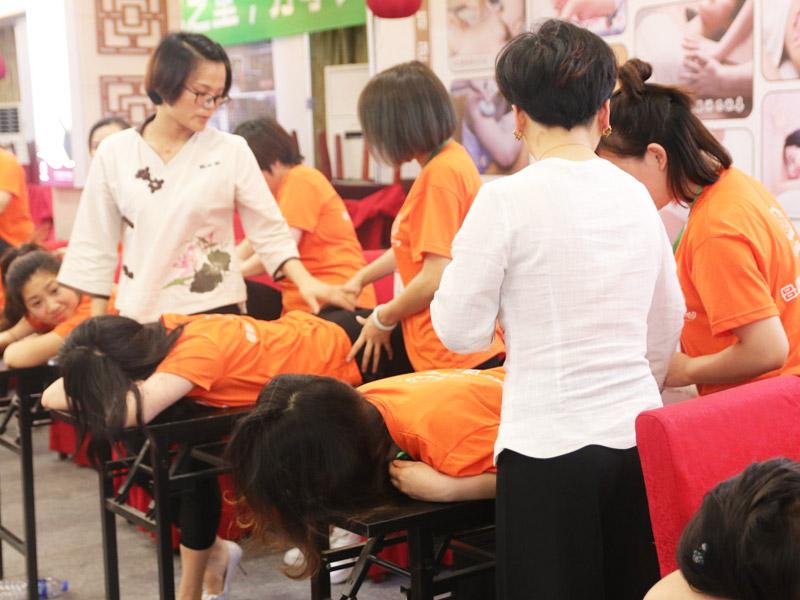 悦芝堂母婴护理加盟 店面图片