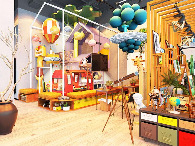藝美繪兒童美術加盟 藝美繪兒童美術店面3