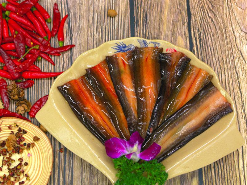 龙情大刀腰片火锅加盟 精美菜品