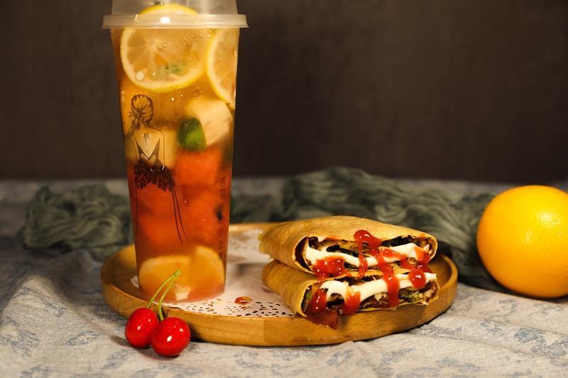 煎餅愛上茶加盟 1