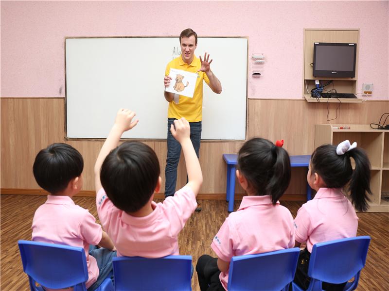 凱頓兒童美語加盟 教學