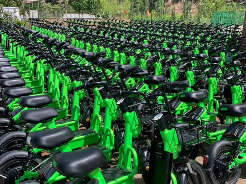 浩客单车加盟 店面图片