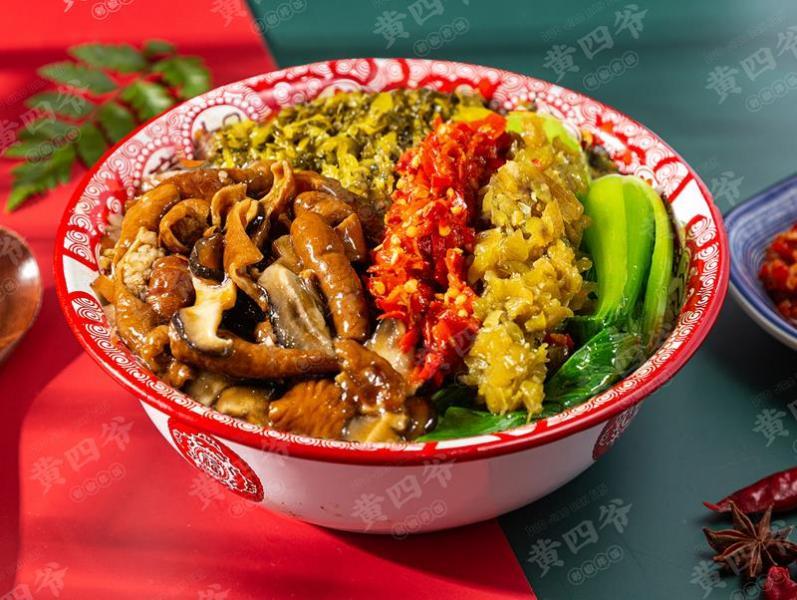 黄四爷剁椒拌饭加盟 黄四爷猪肘饭