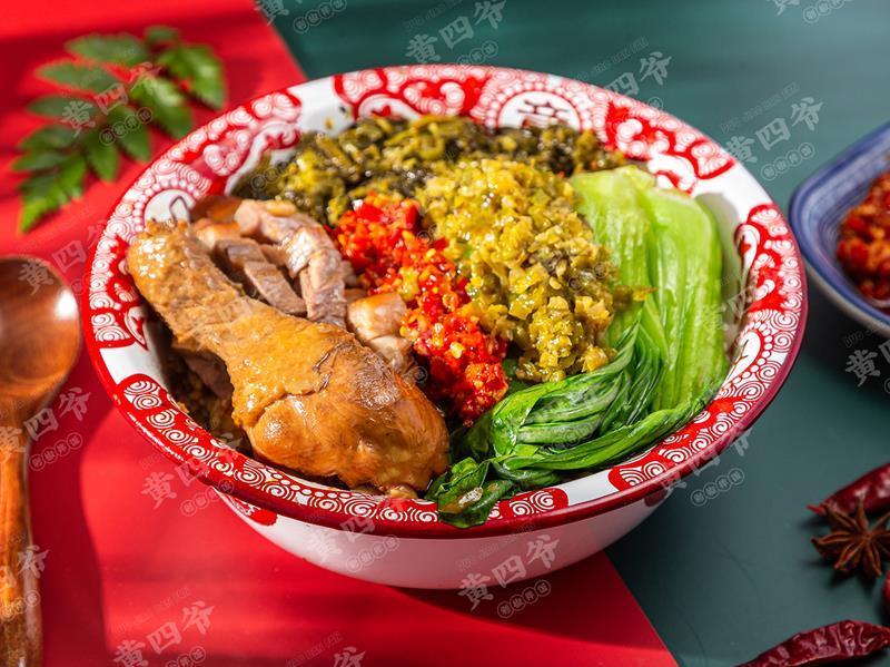 黄四爷剁椒拌饭加盟 黄四爷鸭腿饭