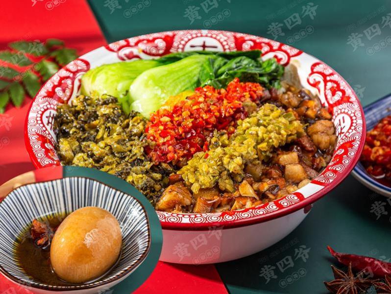 黄四爷剁椒拌饭加盟 黄四爷卤肉饭