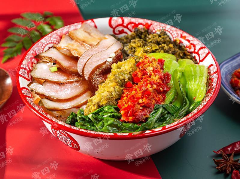 黄四爷剁椒拌饭加盟 黄四爷剁椒饭产品图