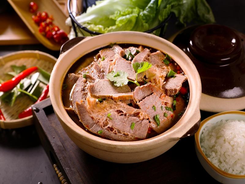 牛宗元牛杂档加盟 牛肉粉丝汤