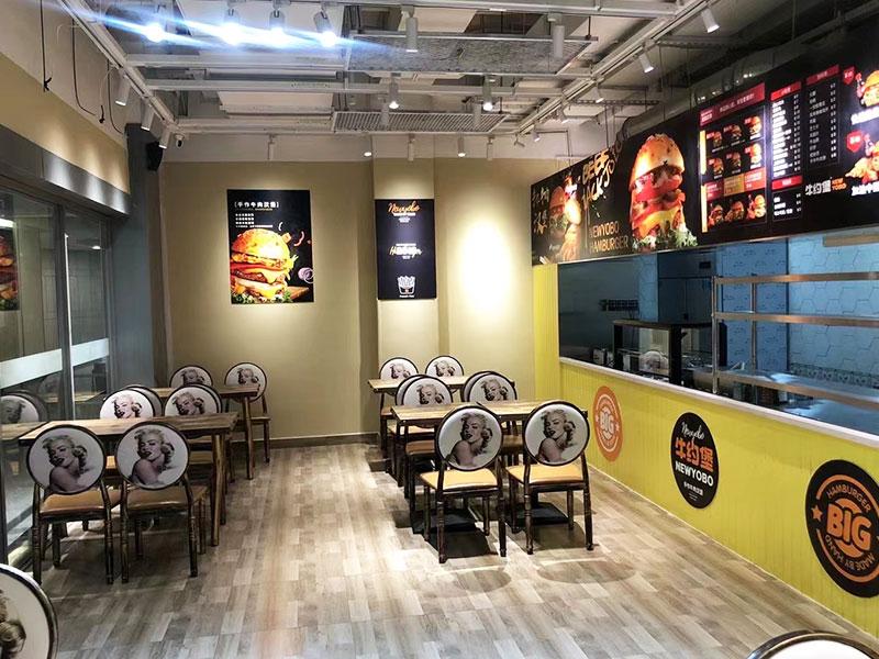牛约堡手作汉堡加盟 店面图片