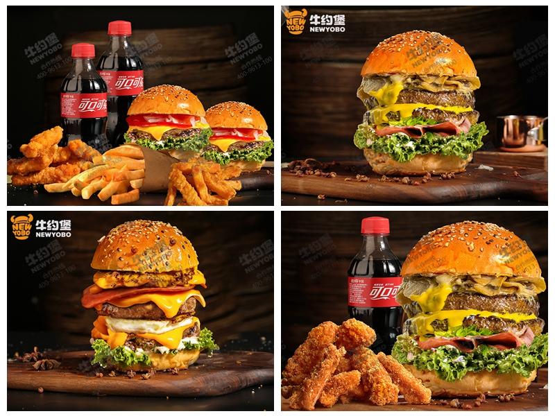 牛约堡手作汉堡加盟 产品图