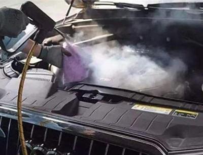 阿家璽蒸汽洗車